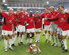 MANCHESTER UNITED 01 2004 FA CUP WINNERS (FOOTBALL) KEYRINGS-MUGS-PHOTO PRINTS