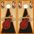 Miami Heat Cornhole Wrap NBA Vintage Game Skin Board Set Vinyl Decal CO641 on eBay