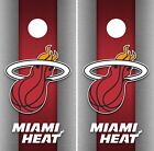 Miami Heat Cornhole Wrap NBA Game Skin Board Set Vinyl Decal Decor CO646 on eBay