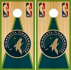 Minnesota Timberwolves Cornhole Wrap NBA Game Skin Board Set Vinyl Decal CO653 on eBay