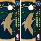Minnesota Timberwolves Cornhole Wrap NBA Logo Game Skin Set Vinyl Decal CO655 on eBay
