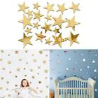 Home Decoration Removable DIY Stars Mirror Sticker Wall 20 Pcs N98B