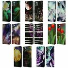 OFFICIAL HAROULITA ABSTRACT NATURE LEATHER BOOK CASE FOR APPLE iPHONE PHONES