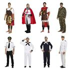 Adult Male Fancy Dress Dressing Up Costume Party Outfit Navy Army Pilot Roman