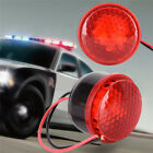 12V Car Alarm Horn Motorcycle Brake Siren Horn Stop Reverse Turn Red LED LightTS