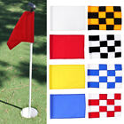 Portable Golf Putting Green Cup Hole Flag Backyard Golf Practice Accessories