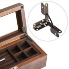 Mini Wooden Box Support Hinge Display Wooden Wine Case Hinges Decor 20PCS
