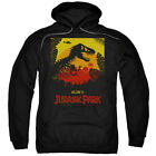 Jurassic Park Welcome To Jp Licensed Adult Hoodie