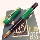 Pelikan Ltd Edition 1935 Originals of Their Time Green Celluloid Fountain Pen