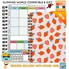 Kyпить Food Diet Diary Slimming World Compatible Weight Loss Tracker Journal Book Log  на еВаy.соm