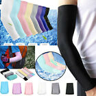 1Pair Cooling Arm Sleeves Cover UV Sun Protection Basketball Golf Athletic Sport