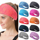 Unisex Sport Yoga Wide Sweat Headband Knotted Turban Women Hair Band Hair Hoop