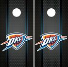 Oklahoma City Thunder Cornhole Wrap NBA Game Board Skin Vinyl Decal Art CO675 on eBay