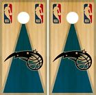 Orlando Magic Cornhole Wrap NBA Game Board Skin Vinyl Decal Vintage Set CO677 on eBay