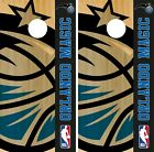 Orlando Magic Cornhole Wrap NBA Game Board Skin Vinyl Decal Logo Set CO679 on eBay