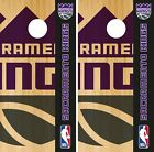 Sacramento Kings Cornhole Wrap NBA Game Skin Board Vinyl Decal Logo Set CO703 on eBay