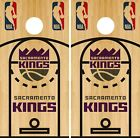 Sacramento Kings Cornhole Wrap NBA Game Skin Board Vinyl Decal Court Set CO704 on eBay