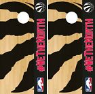 Toronto Raptors Cornhole Wrap NBA Game Skin Board Vinyl Decal Logo Set CO715 on eBay