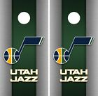Utah Jazz Cornhole Wrap NBA Game Skin Board Vinyl Decal Art Decor Set CO724 on eBay