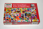 Kellogg's Vintage Cereal Box 500 Piece Puzzle 2017 Karmin NOS New Sealed 11x18