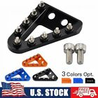 Wider Rear Brake Pedal Tip Plate KTM 125-250 300 350 450 500 EXC SX SXF XCF XCW image