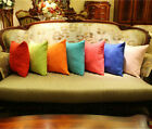 NEW Brentwood Faux Suede Toss Pillow Decorative Pillow Solid Color Throw Pillow image