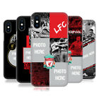 CUSTOM CUSTOMISED PERSONALISED LIVERPOOL FC HARD CASE FOR APPLE iPHONE PHONES