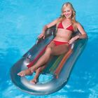Adults Inflatable Ride On Swimming Paddling Pool Float Beach Lounger Toy Lilo