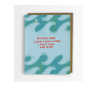 NEW EMILY MCDOWELL DIDN'T KNOW WHAT TO SAY GIFT GREETING CARD OFFICE ART & CRAFT