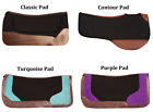 USED PROFESSIONAL WESTERN SADDLE PAD FELT CONTOURED WITHER RELIEF WESTERN HORSE