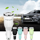 Aroma Diffuser Car Air Humidifier Dual Power USB Charger Purifier Essential Oil