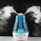 3L Ultrasonic Aroma Humidifier Double Nozzle Air Diffuser Atomizer Fogger Mist