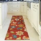KITCHEN RUGS CARPET AREA RUG RUNNERS OUTDOOR CARPET CUTE RED PATIO RUNNER RUGS ~