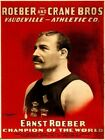 Roeber & Crane Bros. Athletic Co. Vintage Wall Print POSTER CA