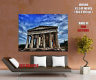 Parthenon Ancient Greek Temple Cityscape Wall Print POSTER CA