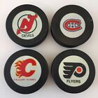 SCARCE 1980-83 New Jersey Devils NHL Inglasco NO SHIELD Game Puck