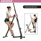 2 in 1 Vertical Climber Stepper Maxi Exercise Machine Home Gym Fittness