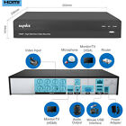 SANNCE 16CH/ 8CH/ 4CH 5in1 1080P 2MP DVR Digital Video Recorder Home CCTV System