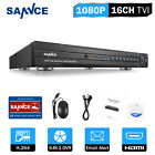 SANNCE 16CH/ 8CH/ 4CH 1080P HDMI DVR Digital Video Recorder for Home CCTV System