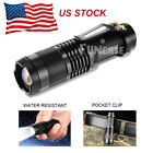 LED Tactical Flashlight Military Grade Torch Small Super Bright Handheld Light