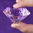 50mm Crystal Paperweight Glass Art Large Giant Diamond Decor Centerpiece Gifts фото