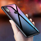 For Xiaomi Redmi Note 5 Pro Tempered Glass Case Hard Shockrpoof Armor Back Cover