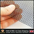 Black Epoxy #8 (2.5mm Hole x 0.7mm Wire) Woven Mesh - Full Range