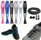 Внешний вид - Elastic No-Tie Shoelaces Black, Running Sport Triathlon Shoelace Shoe