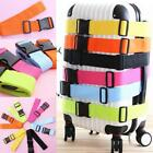 Adjustable Strong Extra Safety Travel Suitcase Luggage Baggage Straps Tie Belt!
