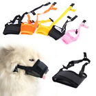Puppy Muzzle Anti Stop Bite Barking Chewing Mesh Mask For Pet Dog Training Tool