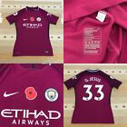 Manchester City Nike Player Issue Match Issue Football Shirt GJESUS Size L
