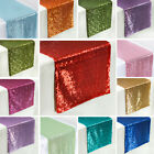 Sequined Table Runner Dinner Party Wedding Catering Reception Banquet Linens