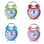 3inch Twin Bell Alarm Clock, Night Light , Battery Operated Loud Alarm Clock