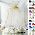 150 pcs 6x9 inch ORGANZA Fabric BAGS - Wedding FAVORS Drawstring Gift Pouch